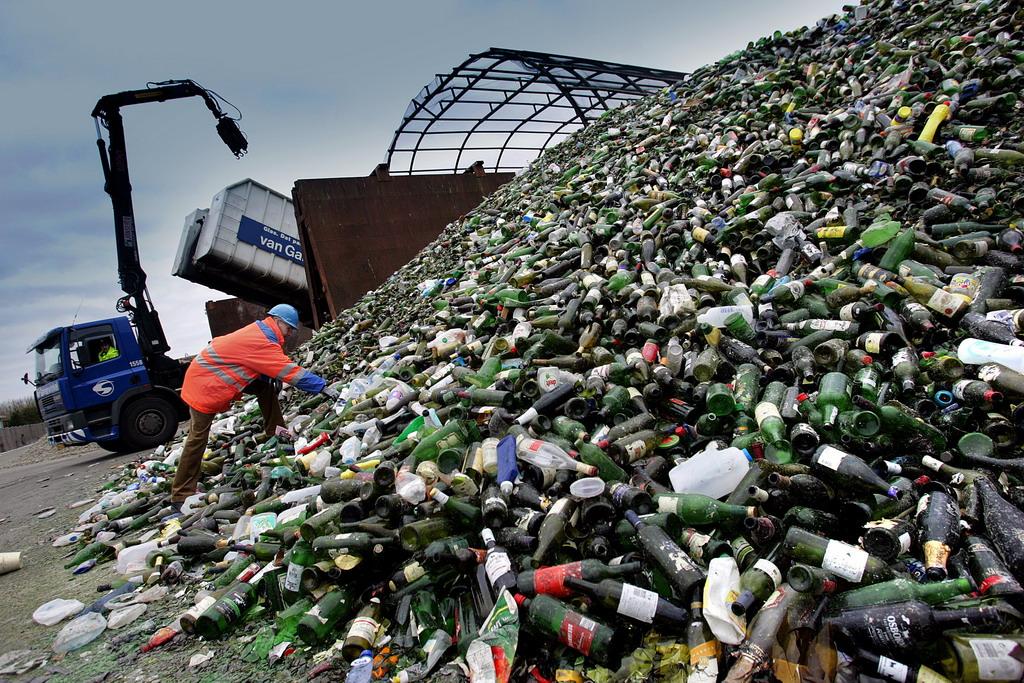 stakleni otpad